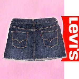 Levi's Skirts - LEVI'S Denim Mini Skirt 4